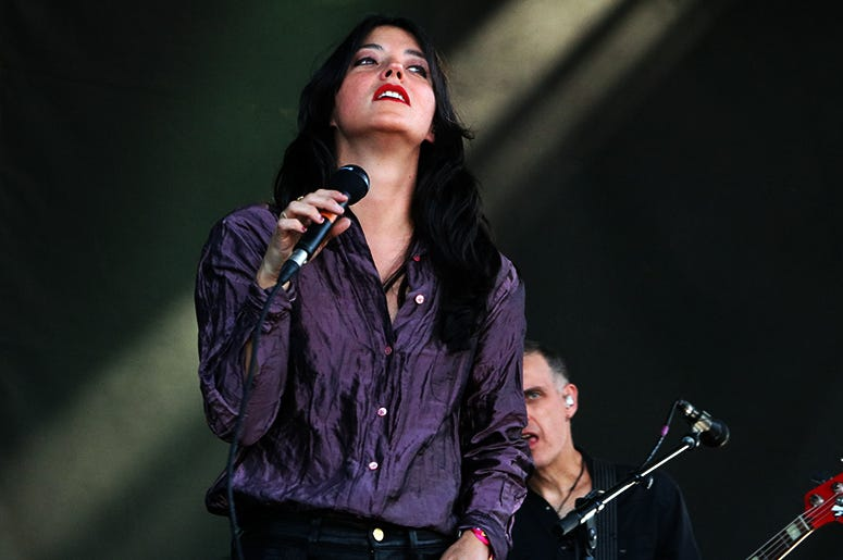 Sharon Van Etten Perform at Sea Hear Now Festival 2019 in Asbury Park, NJ