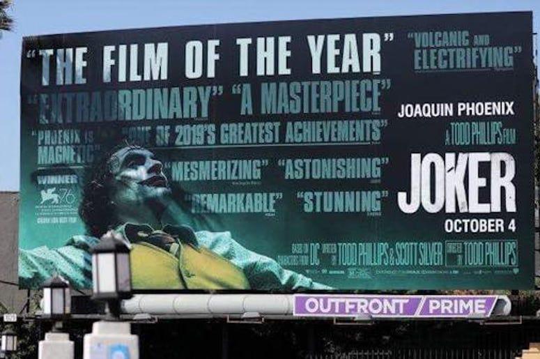 Joker Billboard