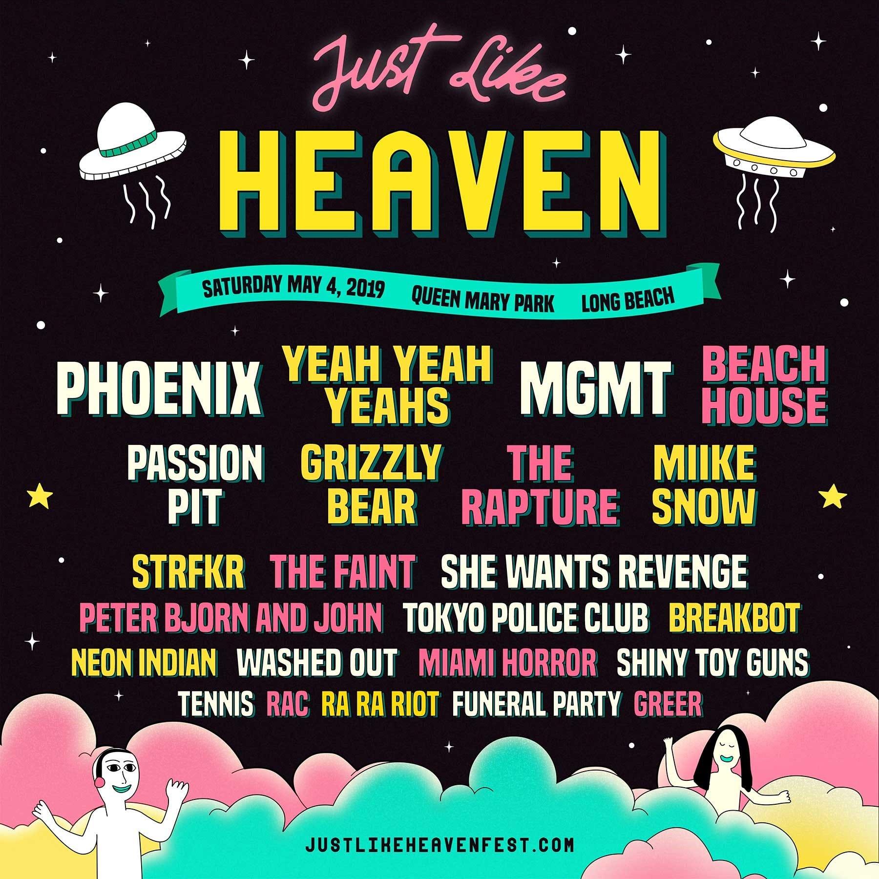 just like heaven festival