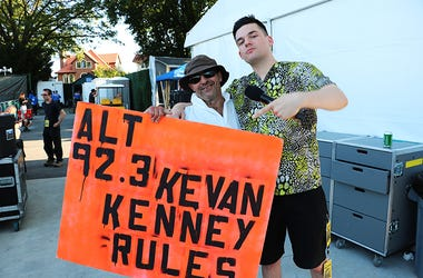 Kevan Kenney & Eric the Good News Guardian