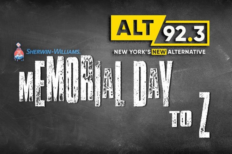 Memorial Day To Z - SherwinWilliams Sponsor