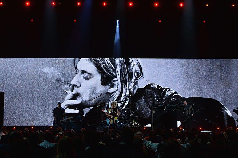 Kurt Cobain backdrop