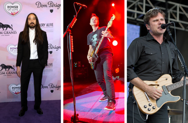 Steve Aoki, Blink-182, Jimmy Eat World