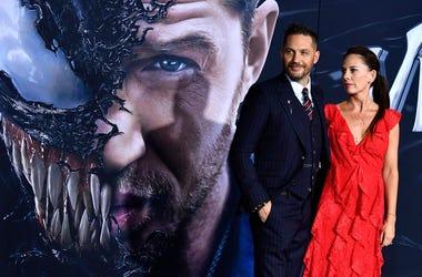 Tom Hardy at Venom Premiere