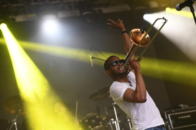 Trombone Shorty & Orleans Avenue at the Bonnaroo Music and Arts Festival
