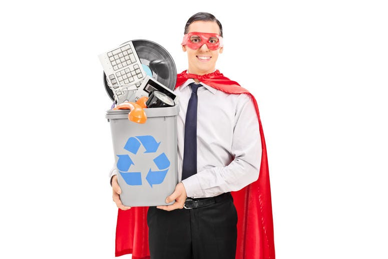 Recycle Bin costume