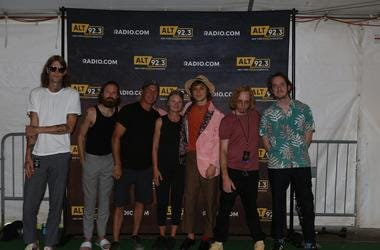 Cage The Elephant Meet Fans at PNC Bank Arts Center