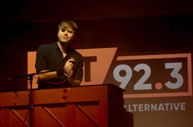 Ben Gibbard at Not So Silent Night