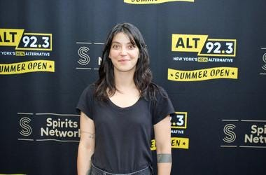 Sharon Van Etten Meets Fans at ALT 92.3 Summer Open Set 1