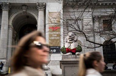 NY Public Library Exterior