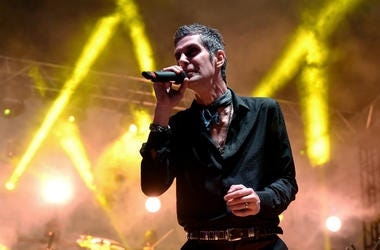 Perry Farrell of Jane's Addiction performs