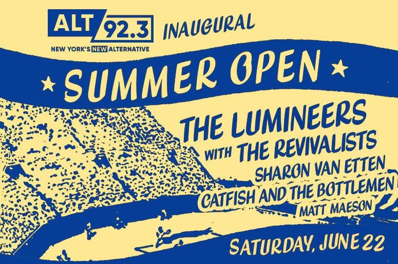 Alt 92.3 Summer Open in Forest Hills
