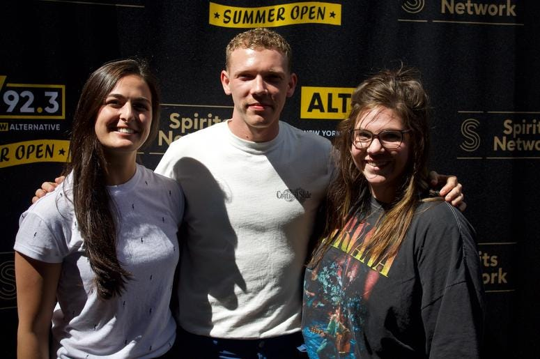 Matt Maeson Meets Fans at ALT 92.3 Summer Open Set 1
