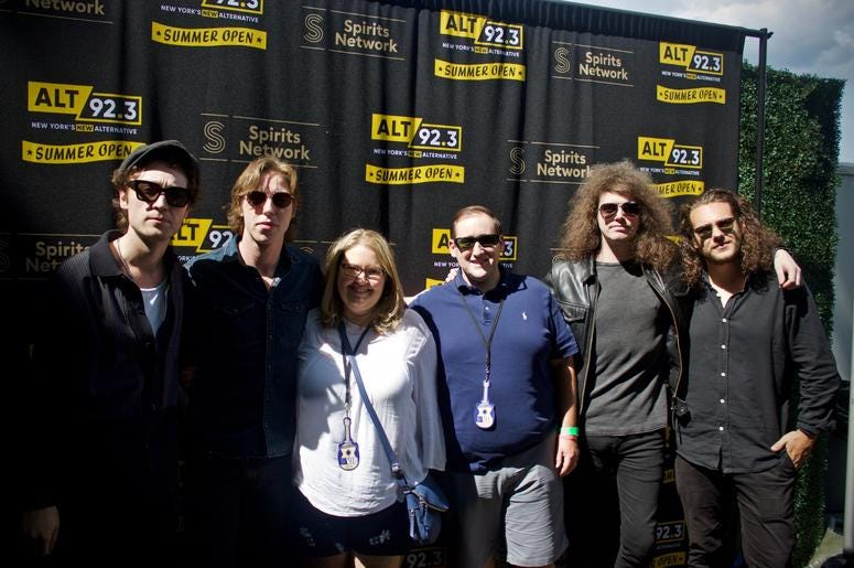 Catfish & the Bottlemen Meet Fans at ALT 92.3 Summer Open Set 1