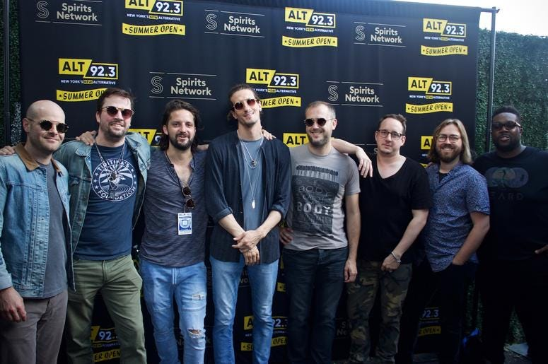 PHOTOS: The Revivalists Meet Fans at ALT 92.3 Summer Open Set 1