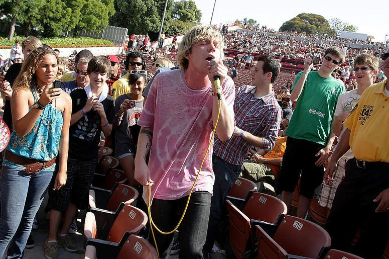 Matt Shultz of Cage the Elephant