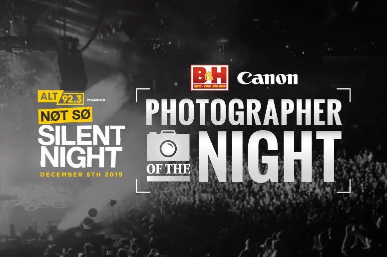 Photographer of the Night