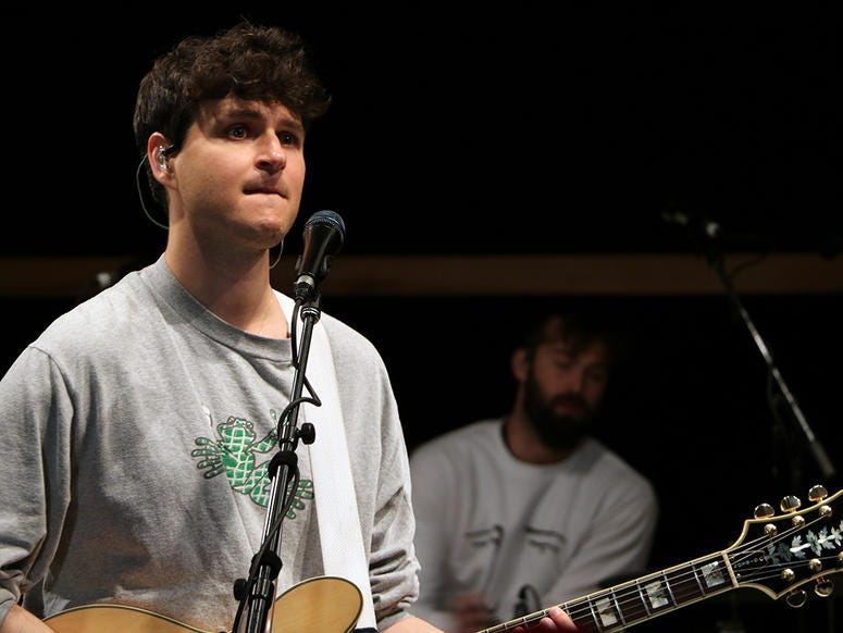 Vampire Weekend's 'Father Of The Bride' Album Release Party At SIR Studios, NYC
