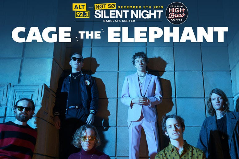 NSSN Cage The Elephant Contest