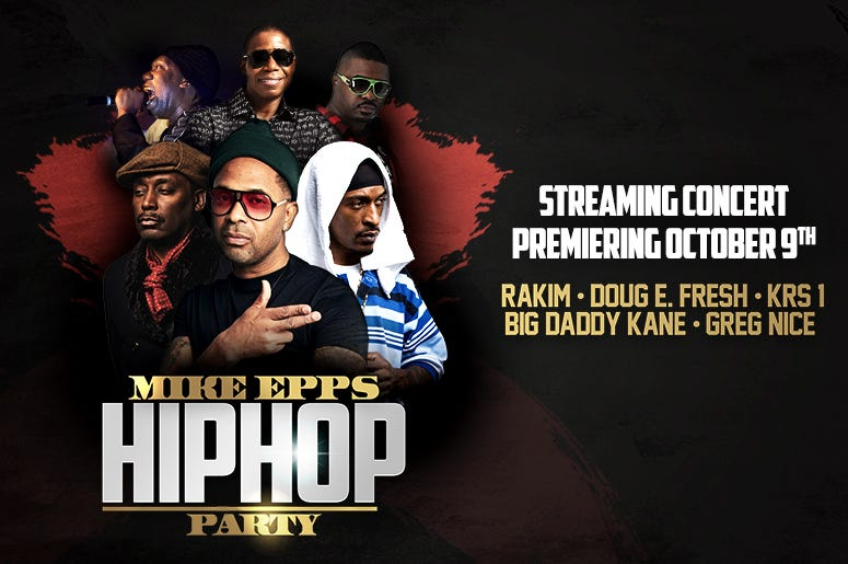 Mike Epps Hip Hop Party!