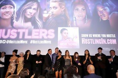 J. Lo Hustlers Panel