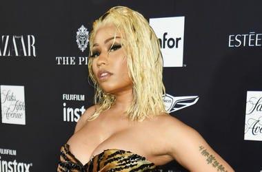 Nicki Minaj attends as Harper's BAZAAR Celebrates 'ICONS By Carine Roitfeld' at the Plaza Hotel on September 7, 2018 in New York City.