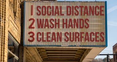 Hand Washing Sign