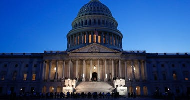 Lewis hailed as 'conscience' of Congress at Capitol memorial