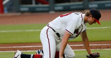 Done for the year: Braves ace Soroka felled by torn Achilles