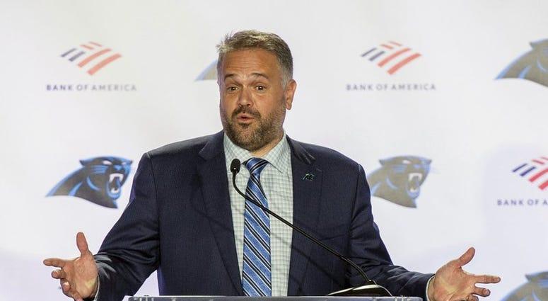 Panthers coach Matt Rhule