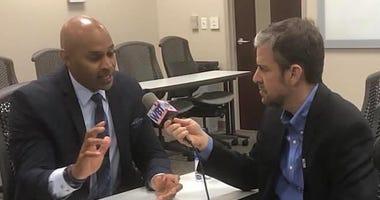 Bo Thompson interviews CMPD Chief Kerr Putney