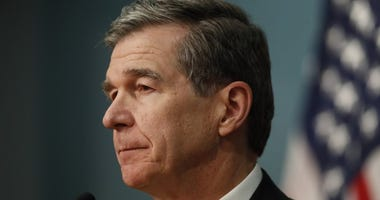North Carolina Gov. Roy Cooper gives an update on the state's response to COVID-19