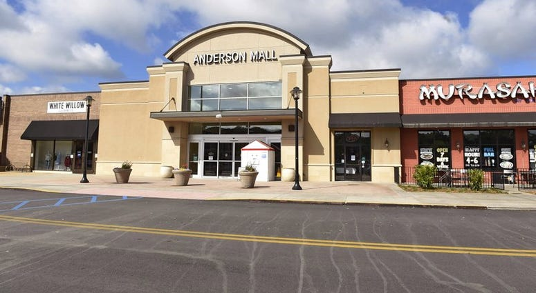 The Anderson Mall during the coronavirus pandemic