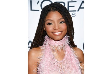 Halle Bailey at the 2017 Glamour Women of the Year Awards in New York