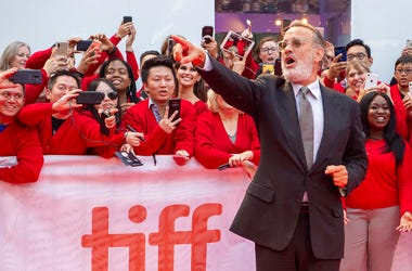 """Actor Tom Hanks arrives for the Gala Premiere of the film """"A Beautiful Day In The Neighborhood"""" at the 2019 Toronto International Film Festival on Saturday, Sept. 7, 2019."""
