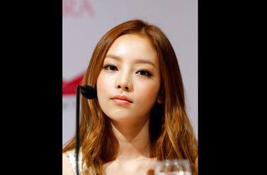 South Korea's pop girl group KARA's Goo Hara