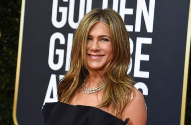 Jennifer Aniston arrives at the 77th annual Golden Globe Awards at the Beverly Hilton Hotel on Sunday, Jan. 5, 2020, in Beverly Hills, Calif.