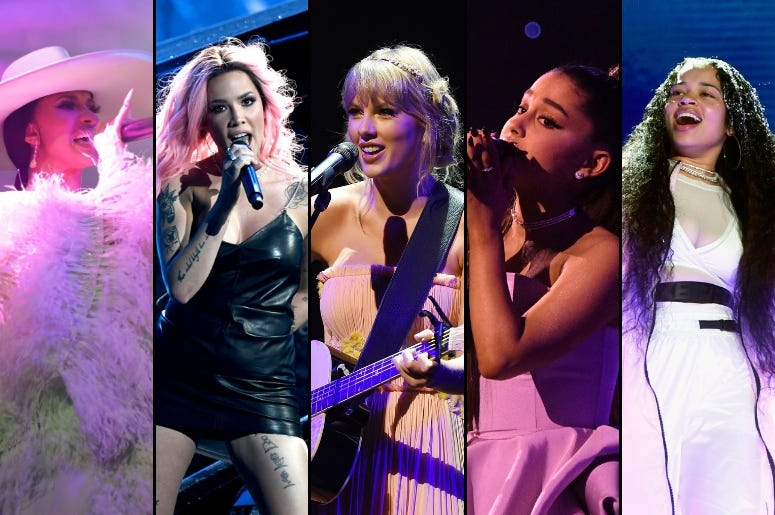 Billboard Music Awards: Cardi B, Halsey, Taylor Swift, Ariana Grande, Ella Mai