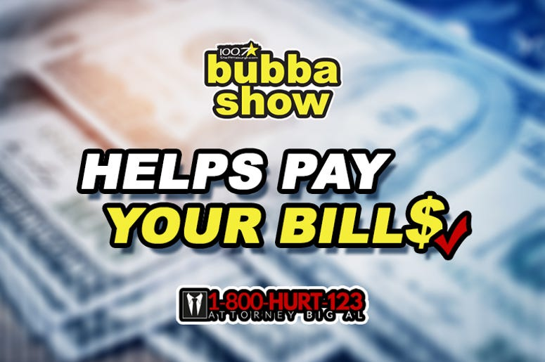 1-800-Hurt-123 Attorney Big Al and Bubba Help Pay Your Bills