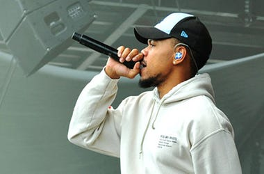 Chance The Rapper On Stage