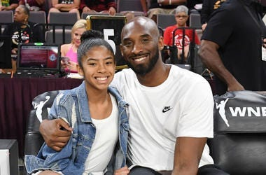Kobe and his daughter
