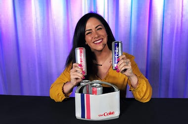 Kelly Tries: New Diet Coke Flavors Strawberry Guava and Blueberry Acai