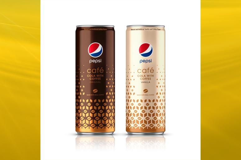 Pepsi with coffee
