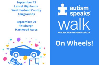 Autism Speaks Walk on Wheels