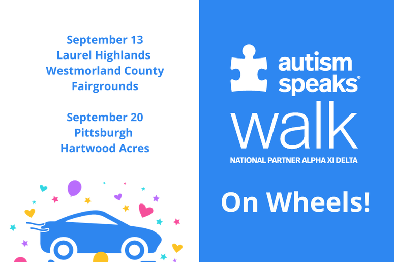 Autism Speaks Walk on Wheels