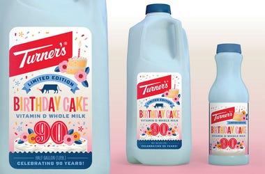 Turner's Birthday Cake Flavored Milk