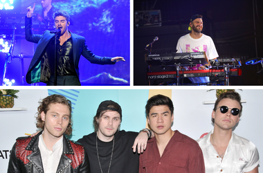 The Chainsmokers and 5 Seconds of Summer