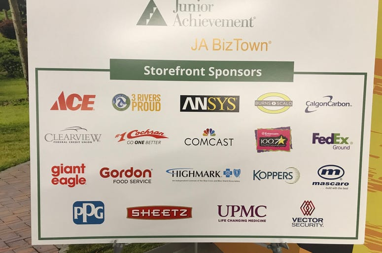 All the businesses in BizTown