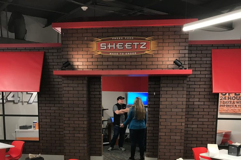Sheetz's storefront