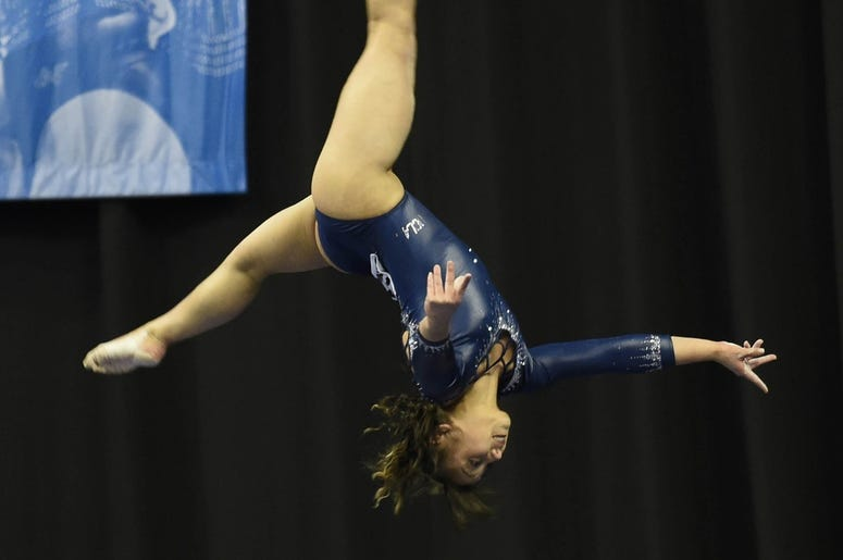 Watch Katelyn Ohashi Earn a Perfect 10